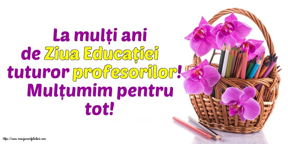 Cele mai apreciate felicitari de Ziua Profesorului cu mesaje - La mulți ani de Ziua Educației tuturor profesorilor!