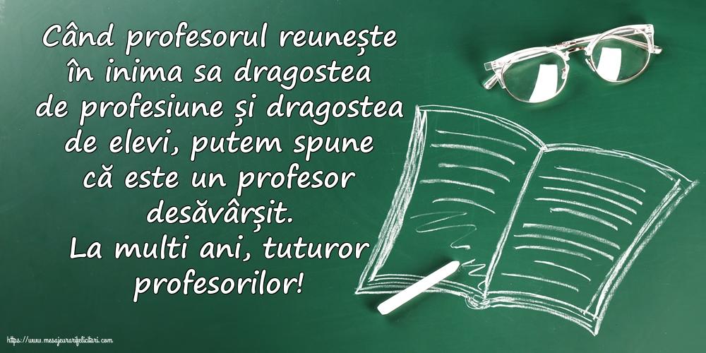 Cele mai apreciate felicitari de Ziua Profesorului cu mesaje - La multi ani, tuturor profesorilor!