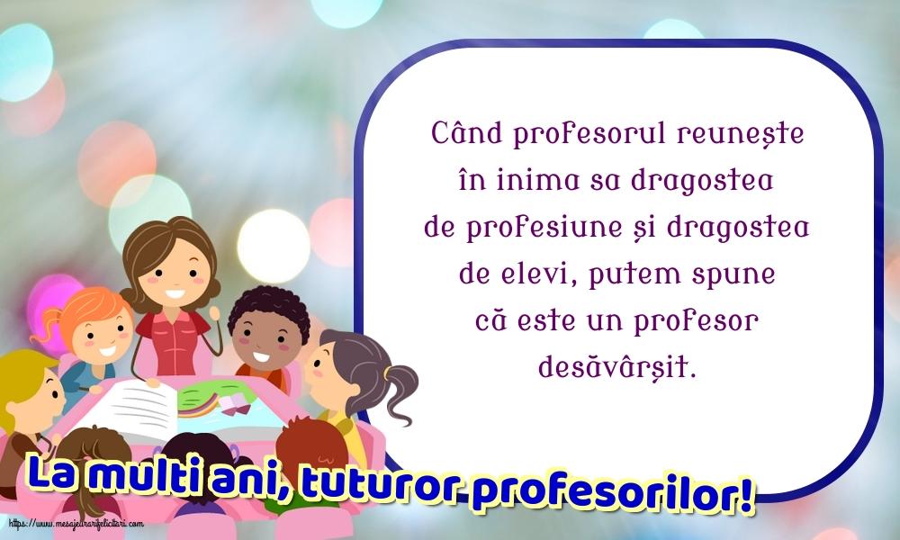 Felicitari de Ziua Profesorului 2019