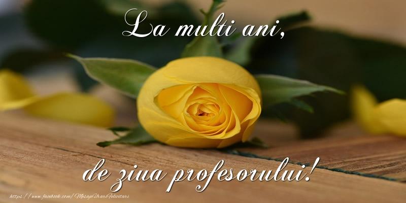 Felicitari de Ziua Profesorului - La multi ani, de ziua profesorului! - mesajeurarifelicitari.com