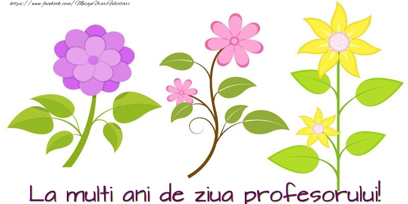 Felicitari de Ziua Profesorului - La multi ani de ziua profesorului!