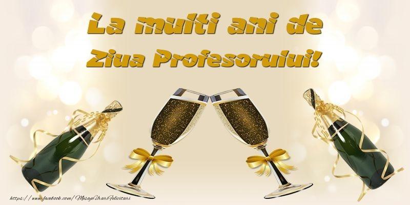 La multi ani de Ziua Profesorului!
