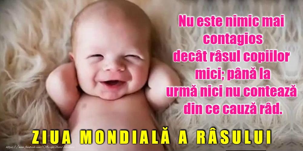Felicitari de Ziua Râsului - Ziua Mondială a Râsului