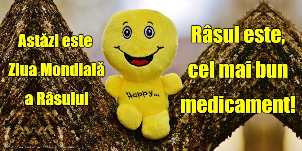 Cele mai apreciate felicitari de Ziua Râsului - Ziua Mondială a Râsului
