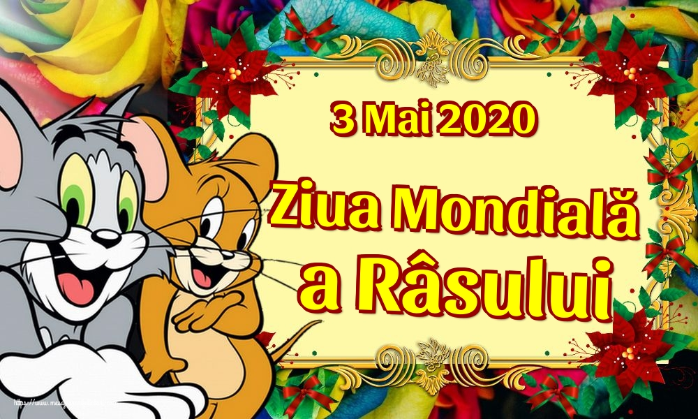 Felicitari de Ziua Râsului - 3 Mai 2020 Ziua Mondială a Râsului - mesajeurarifelicitari.com