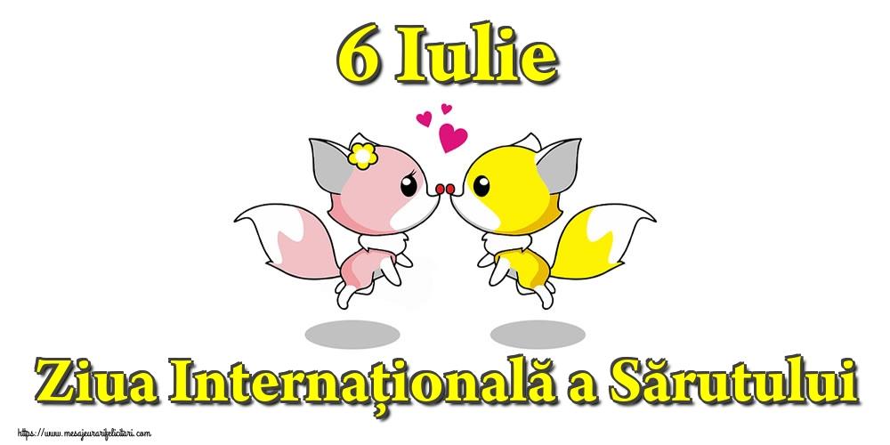 6 Iulie Ziua Internațională a Sărutului