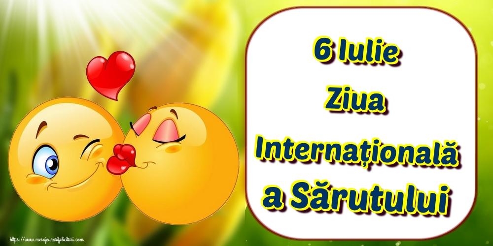 Ziua Sărutului 6 Iulie Ziua Internațională a Sărutului