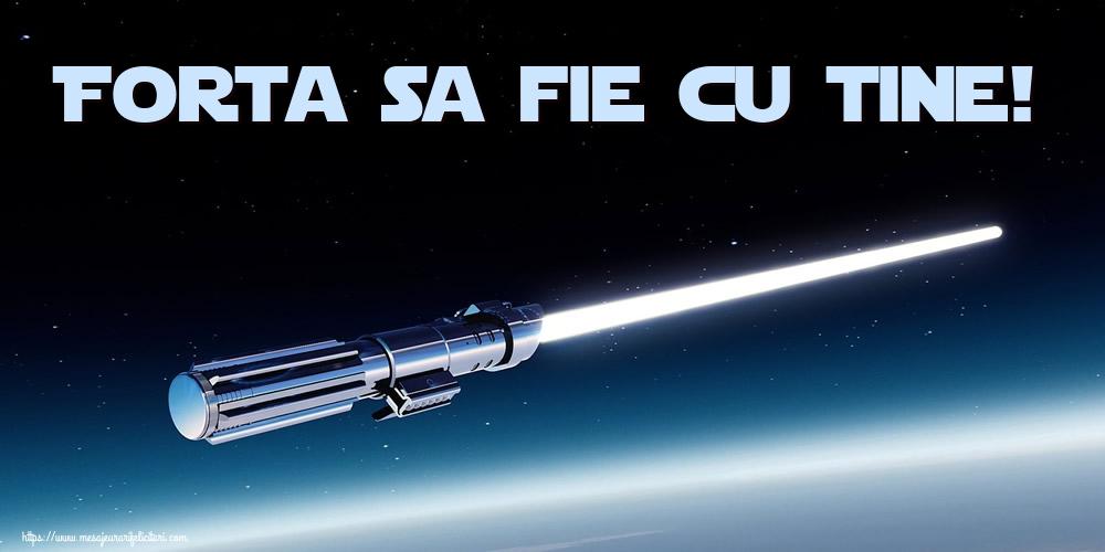 Felicitari de Ziua Star Wars - Forta sa fie cu tine!