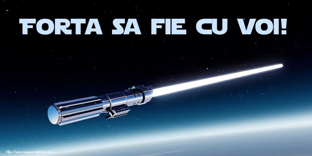 Felicitari de Ziua Star Wars - Forta sa fie cu voi!