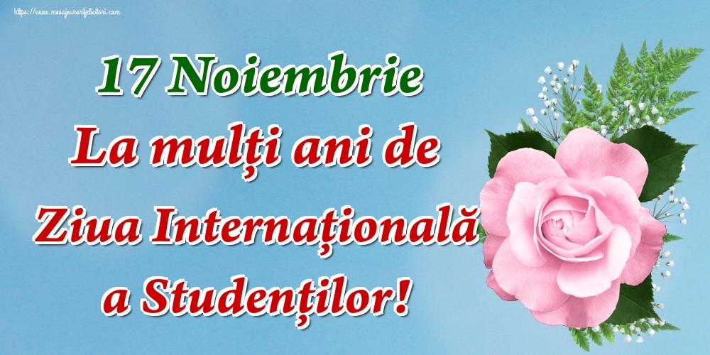 17 Noiembrie La mulţi ani de Ziua Internaţională a Studenţilor!