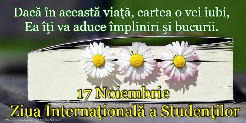 Felicitari de Ziua Internaţională a Studenţilor - La mulți ani de Ziua Internaţională a Studenţilor!