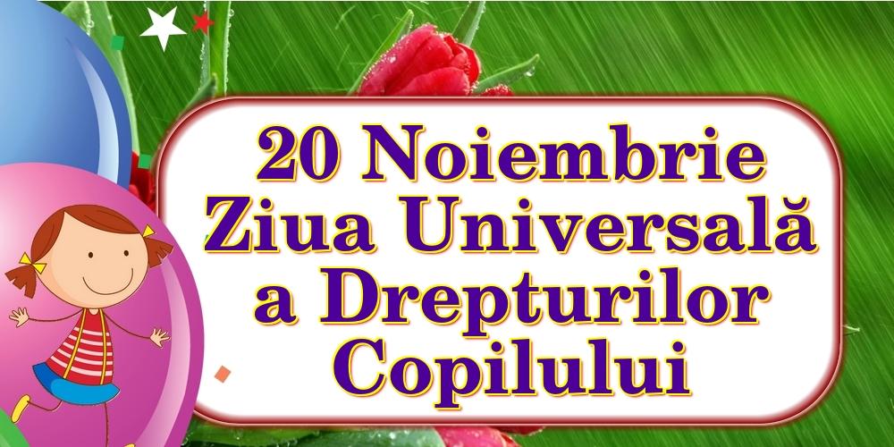 20 Noiembrie Ziua Universală a Drepturilor Copilului