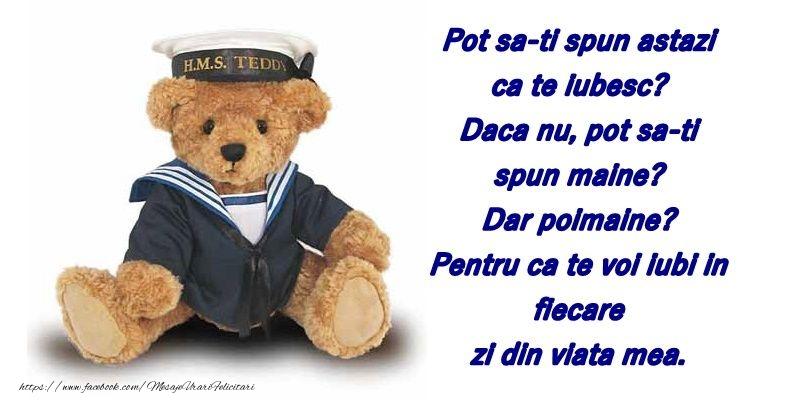 Felicitari cu Ursuleti