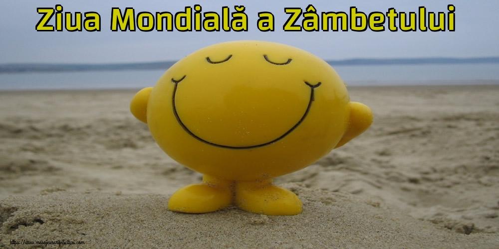 Felicitari de Ziua Zâmbetului - Ziua Mondială a Zâmbetului - mesajeurarifelicitari.com