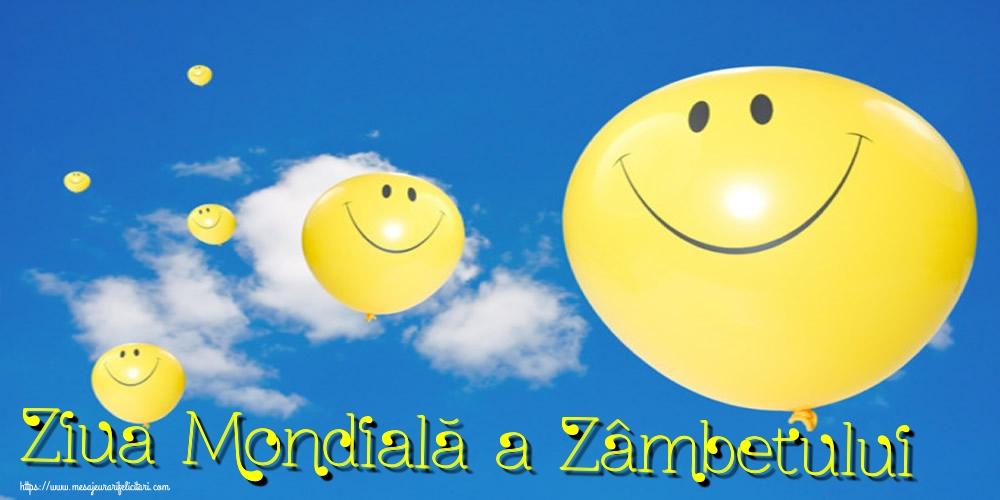Felicitari de Ziua Zâmbetului - Ziua Mondială a Zâmbetului