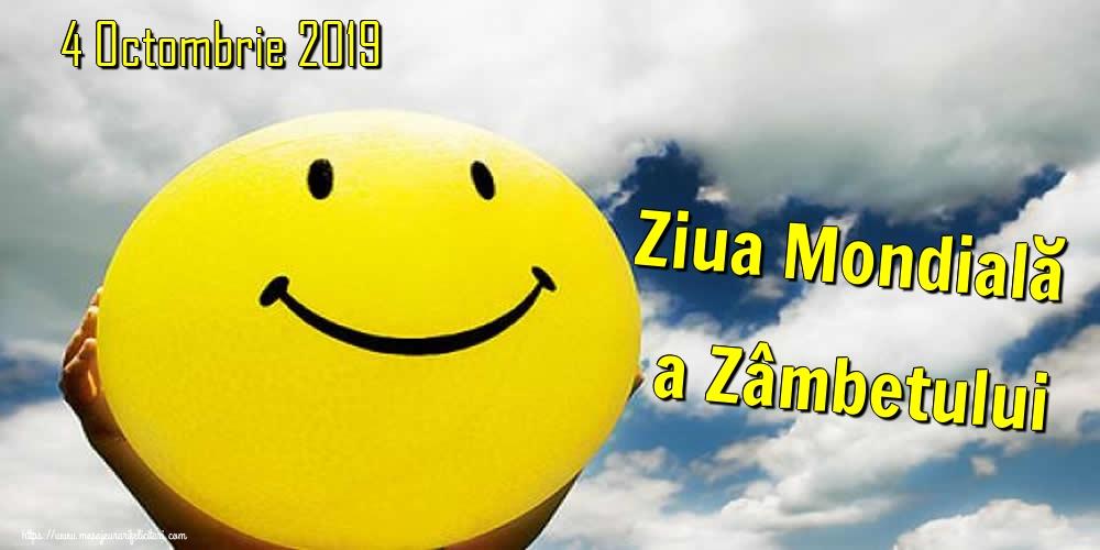 Felicitari de Ziua Zâmbetului - 4 Octombrie 2019 Ziua Mondială a Zâmbetului