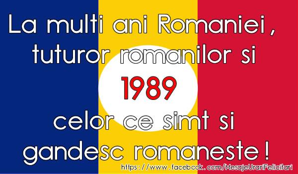 La multi ani Romaniei si tuturor romanilor
