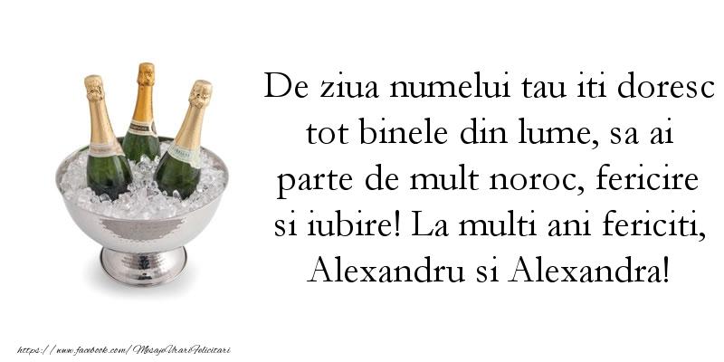 Cele mai frumoase mesaje felicitari de Sfantul Alexandru