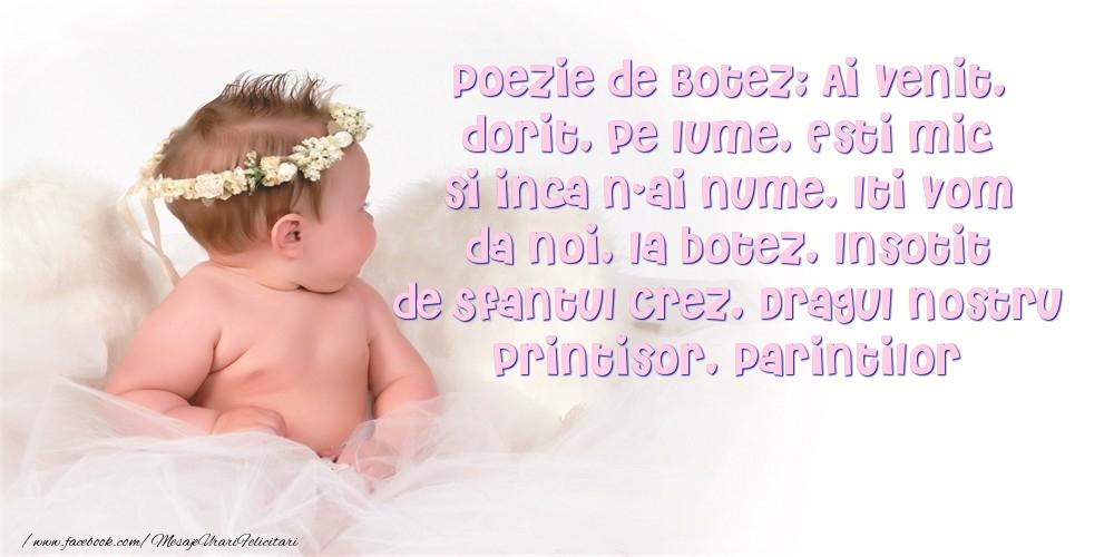 Poezie de Botez