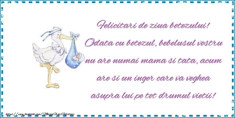 Mesaje de Botez - Felicitari de ziua botezului - mesajeurarifelicitari.com