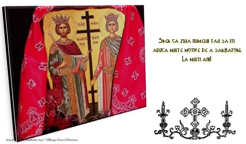 Mesaje de Sfintii Constantin si Elena 2017