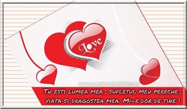 Cele mai frumoase mesaje felicitari de dragoste