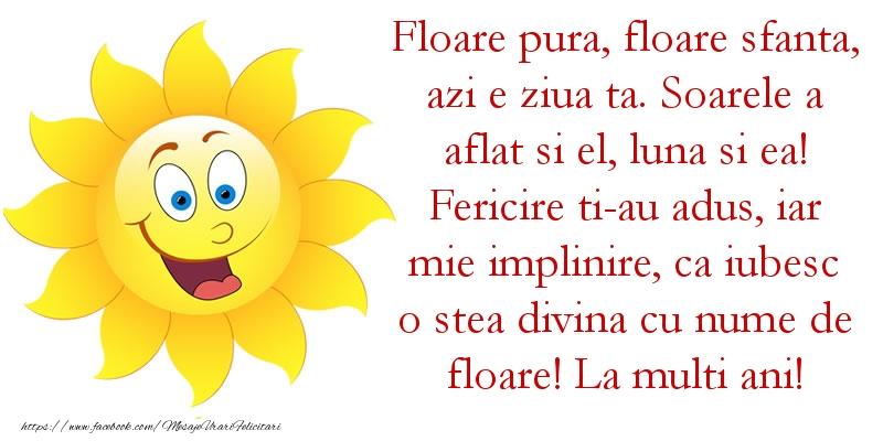 Top 10 mesaje de Florii