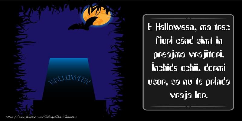 Cele mai frumoase mesaje felicitari de Halloween
