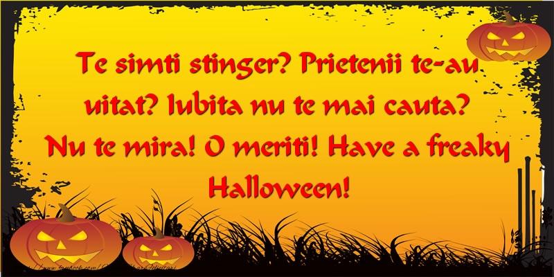 Mesaje de Halloween 2017