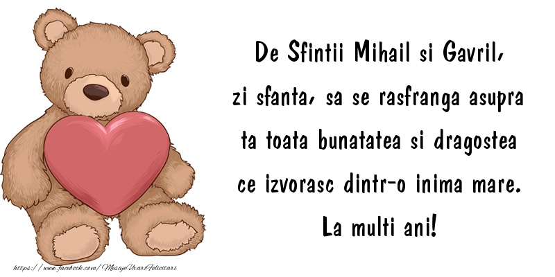 De Sfintii Mihail si Gavril,