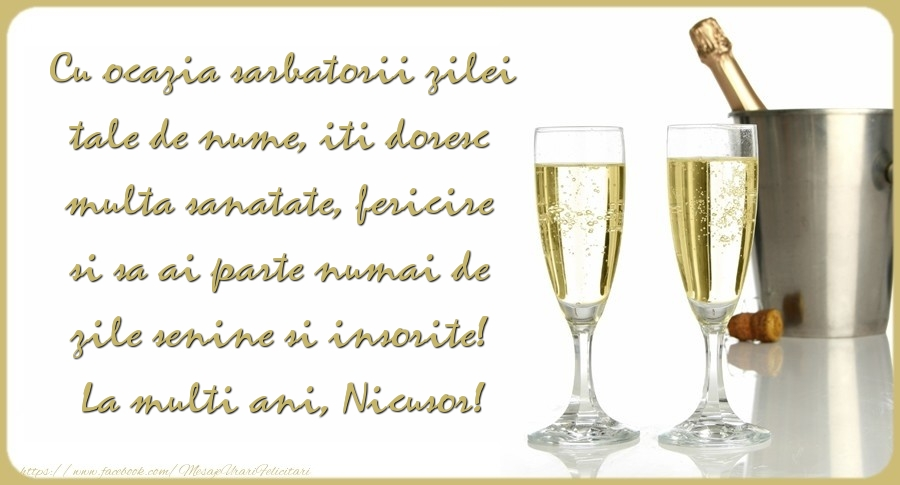 La multi ani, Nicusor!