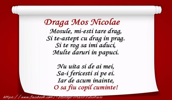 Top 10 mesaje de Mos Nicolae