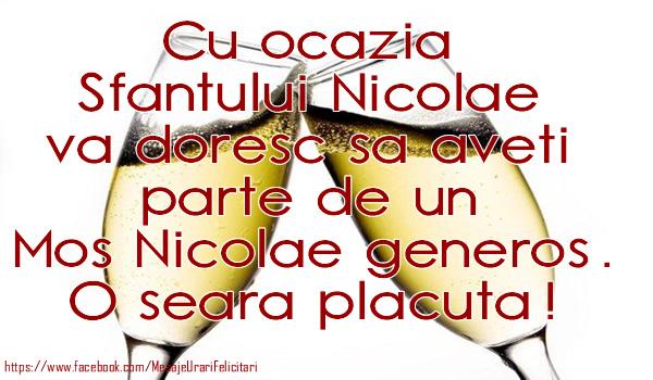 Ocazia Sfantului Nicolae