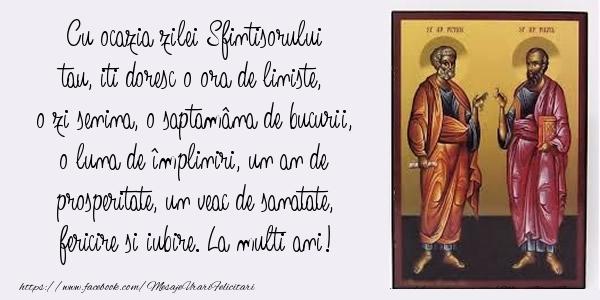 Top 10 mesaje de Sfintii Petru si Pavel