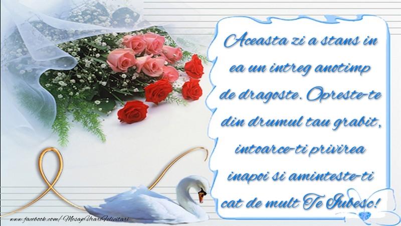 Mesaje de Sfantul Valentin - Te Iubesc! - mesajeurarifelicitari.com