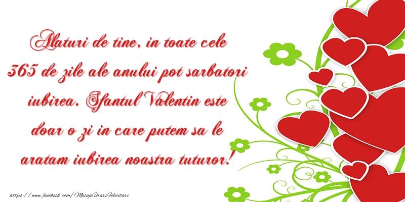 Sfantul Valentin este doar o zi in care putem sa le aratam iubirea noastra tuturor