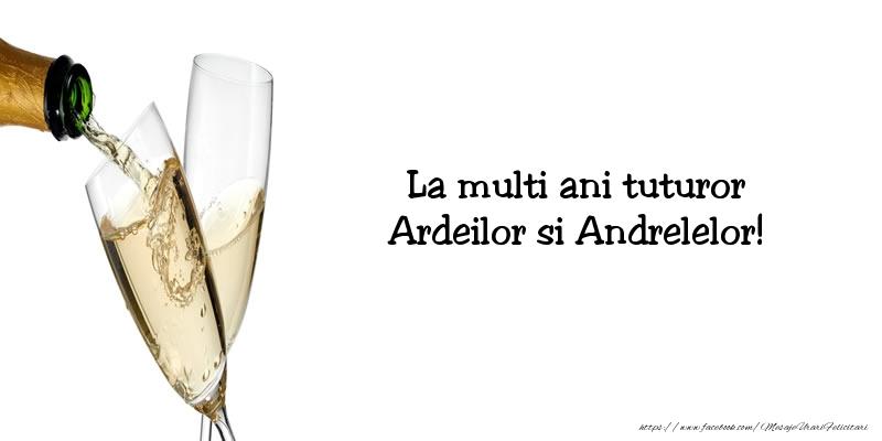 Mesaje de Sfantul Andrei - La multi ani! - mesajeurarifelicitari.com