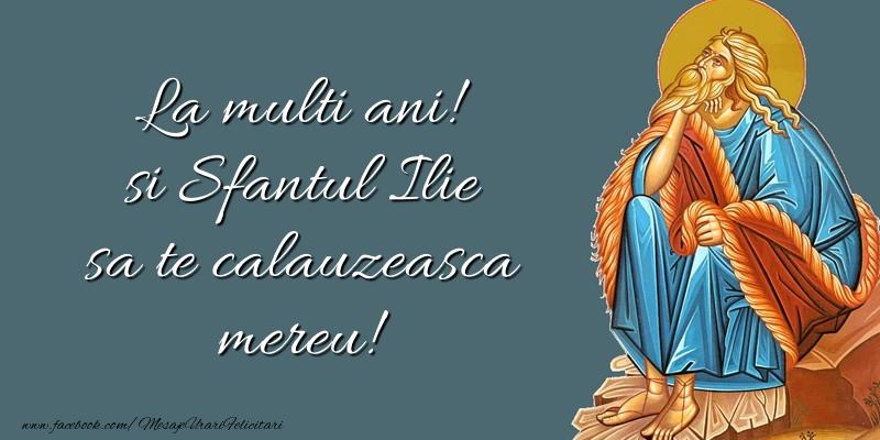 Mesaje de Sfantul Ilie - Sfantul Ilie sa te calauzeasca mereu! - mesajeurarifelicitari.com
