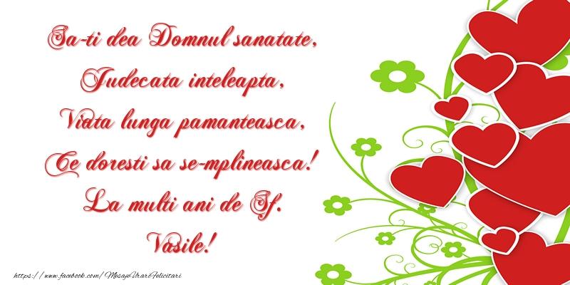La multi ani de Sf. Vasile!