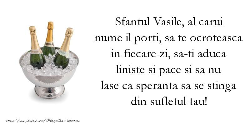 Cele mai frumoase mesaje felicitari de Sfantul Vasile