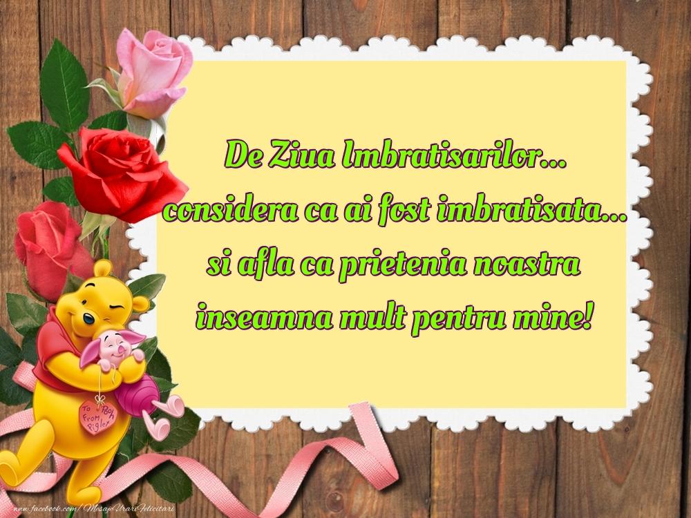 Mesaje de Ziua Imbratisarilor - De Ziua Imbratisarilor - mesajeurarifelicitari.com