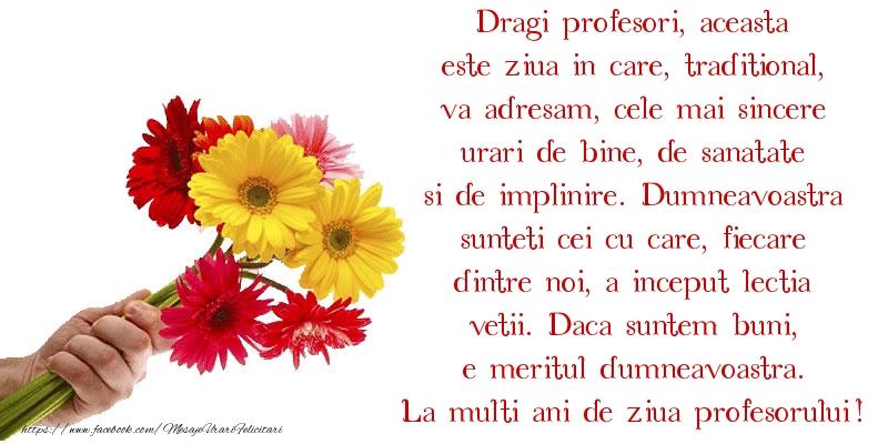 Cele mai frumoase mesaje felicitari de Ziua Profesorului