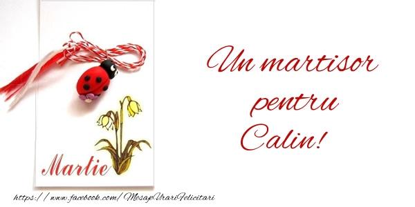 Felicitari de 1 Martie - Un martisor pentru Calin!