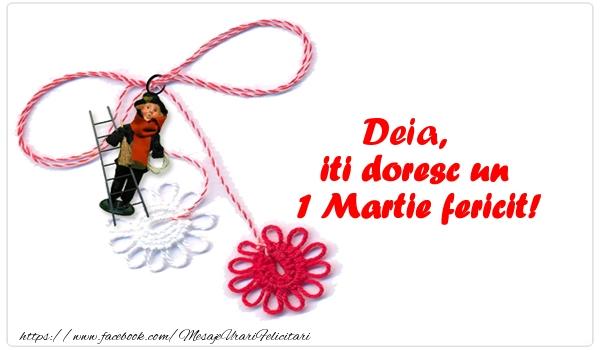 Felicitari de 1 Martie - Deia iti doresc un 1 Martie fericit!