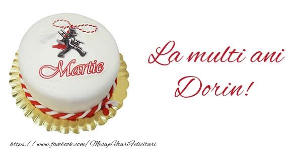 Felicitari de 1 Martie - 1 martie La multi ani  Dorin!