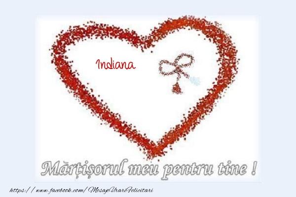 Felicitari de 1 Martie - Martisorul meu pentru tine Indiana