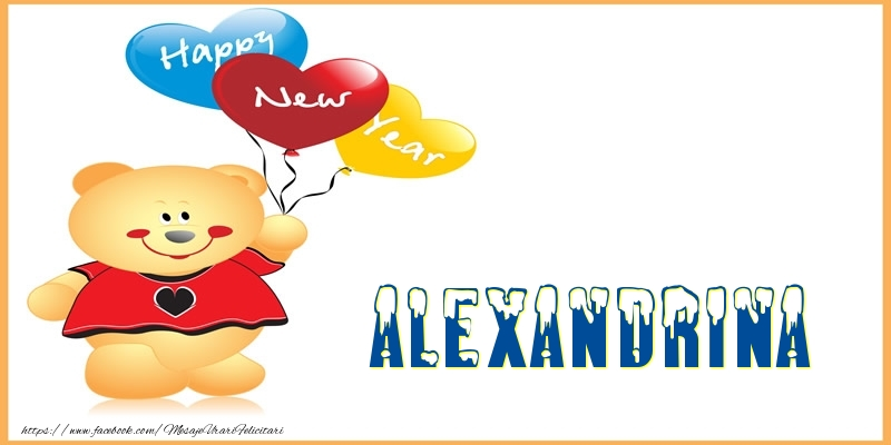 Felicitari de Anul Nou - Happy New Year Alexandrina!
