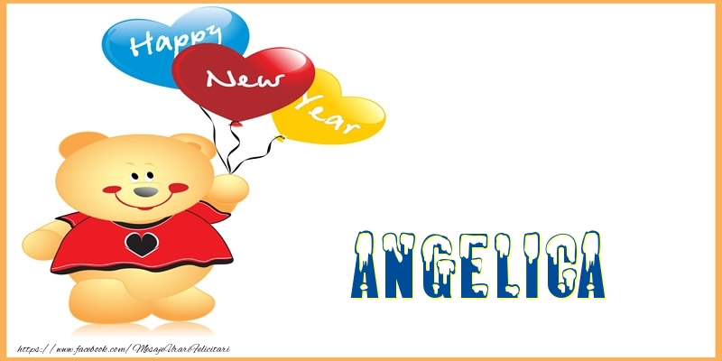 Felicitari de Anul Nou - Happy New Year Angelica!