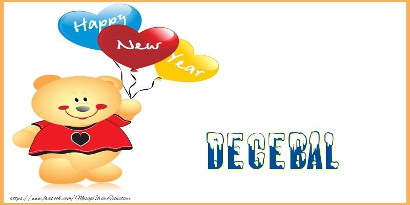 Felicitari de Anul Nou - Happy New Year Decebal!