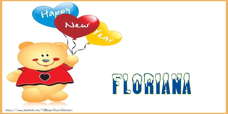 Felicitari de Anul Nou - Happy New Year Floriana!